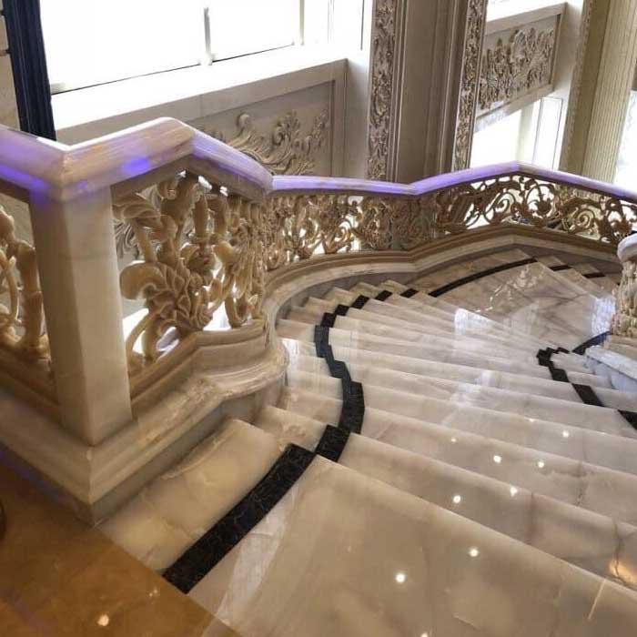 cầu thang đá hà nội