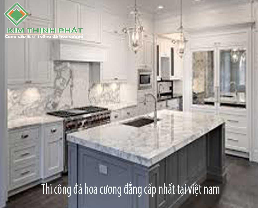 Đá hoa cương làm bếp